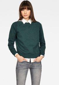 G-Star - XZULA ZIP - Pullover - green - 1