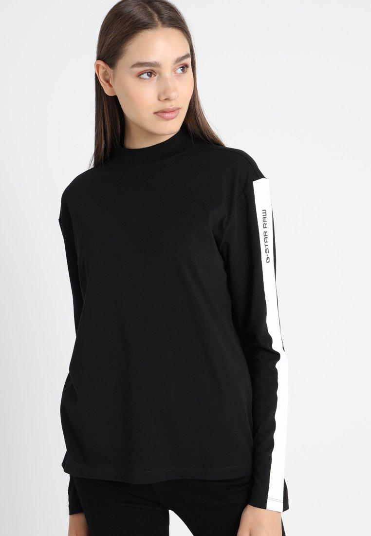 G-Star - ILOU R T WMN L/S - Langarmshirt - black