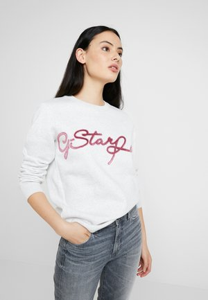 GRAPHIC 4 BF R SW WMN L/S - Sweatshirt - white heather
