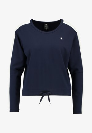 NOSTELLE CROPPED - Sweatshirts - sartho blue/milk