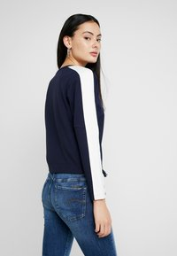 G-Star - NOSTELLE CROPPED - Sweatshirt - sartho blue/milk - 2