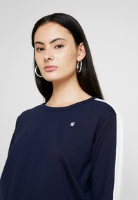 G-Star - NOSTELLE CROPPED - Sweatshirt - sartho blue/milk - 4