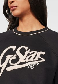 G-Star - GRAPHIC LOGO XZULA - Felpa - black - 3