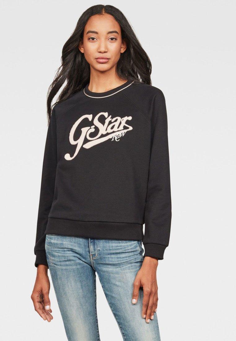 G-Star - GRAPHIC LOGO XZULA - Sweatshirt - black