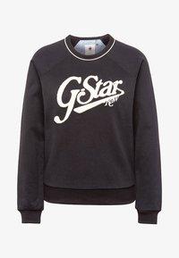 G-Star - GRAPHIC LOGO XZULA - Felpa - black - 4