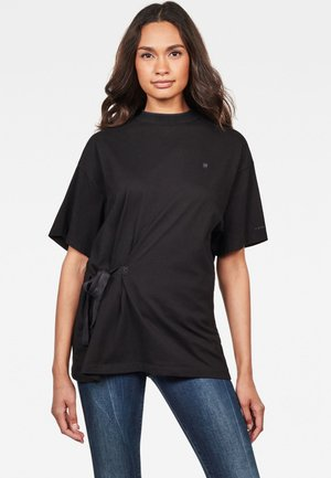 DISEM LOOSE - Print T-shirt - black