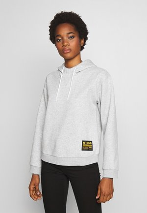 BILBI BOX LOGO - Jersey con capucha - light grey heather