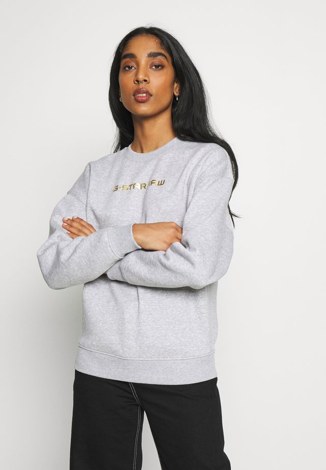 DEDDA - Sweater - mottled light grey