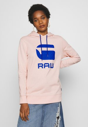 BOYFRIEND HOODED - Hoodie - pink orchid heather