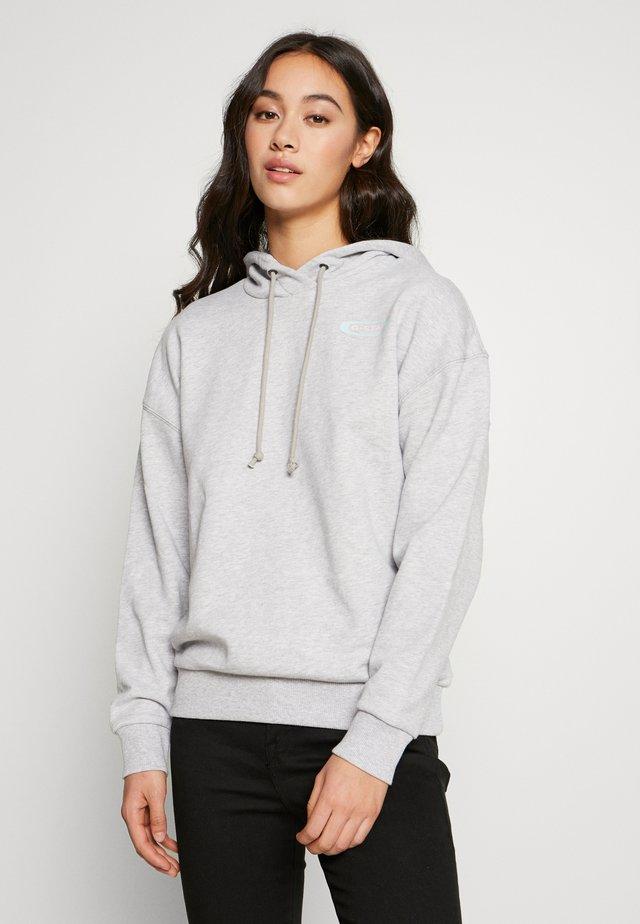 REI HOODED - Huppari - light grey header
