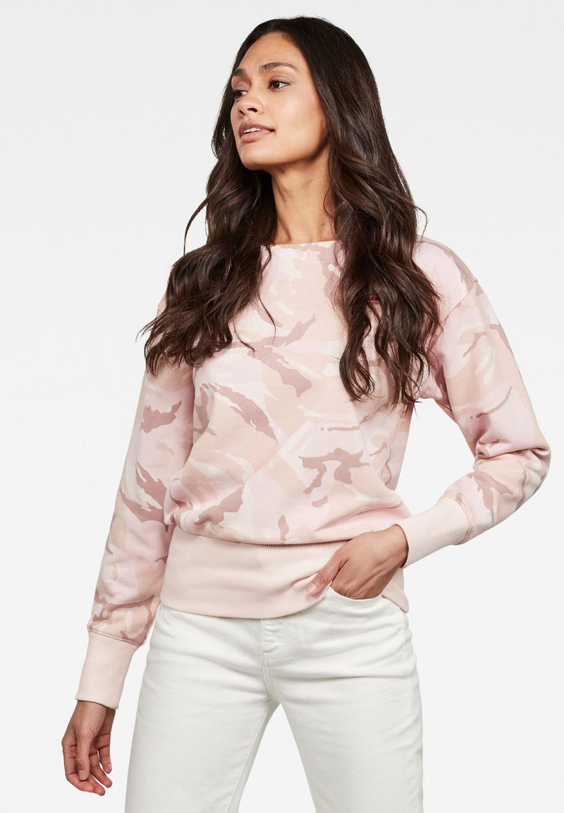 G-Star - XZYPH ALLOVER - Sweater - pink