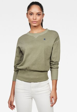 XZYPH RECYCLE DYE - Sweater - smoke olive
