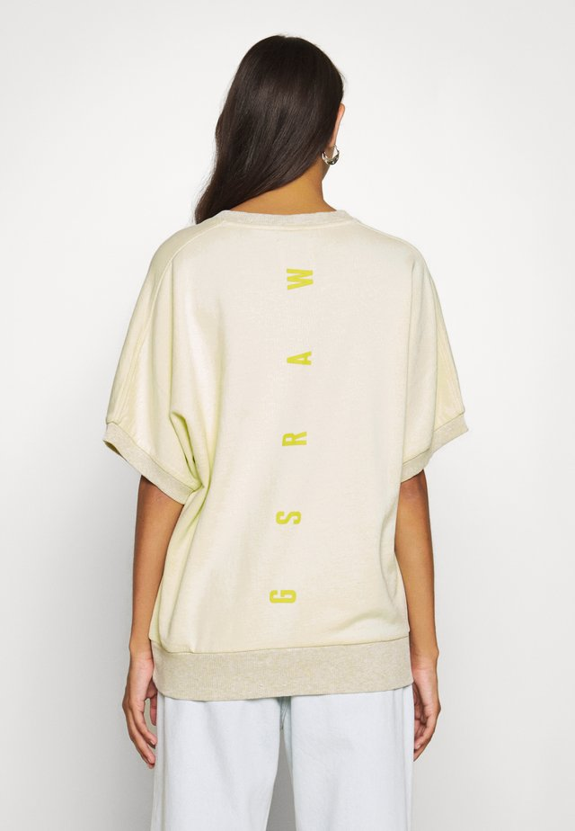 JASMAR OVERDYED R SW WMN S\S - T-Shirt print - lumi green