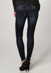 G-Star - 3301 LOW SUPER SKINNY - Jeans Skinny Fit - neutro stretch denim - 3