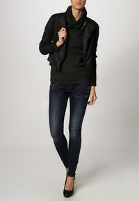 G-Star - 3301 LOW SUPER SKINNY - Jeans Skinny Fit - neutro stretch denim - 0