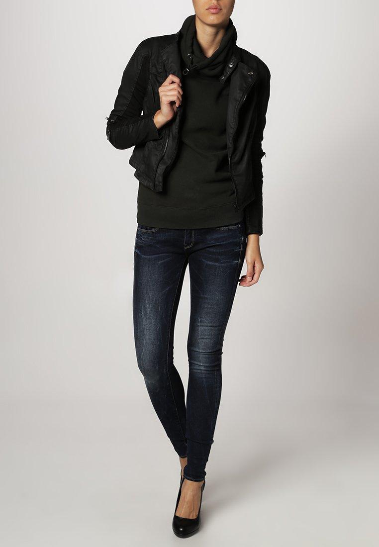 G-Star - 3301 LOW SUPER SKINNY - Jeans Skinny - neutro stretch denim