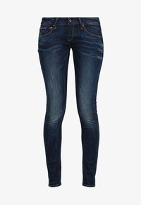 G-Star - 3301 LOW SUPER SKINNY - Jeans Skinny Fit - neutro stretch denim - 6