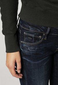 G-Star - 3301 LOW SUPER SKINNY - Jeans Skinny Fit - neutro stretch denim - 4