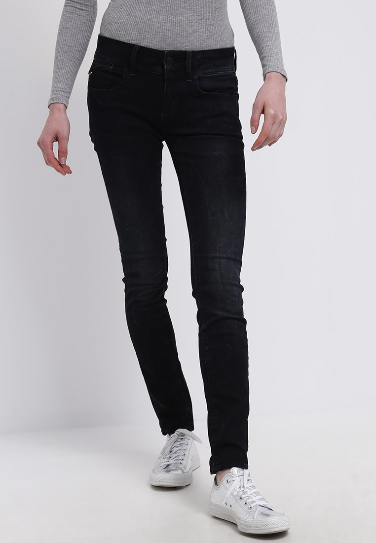 G-Star - LYNN MID SKINNY  - Jeans Skinny Fit - joll superstretch