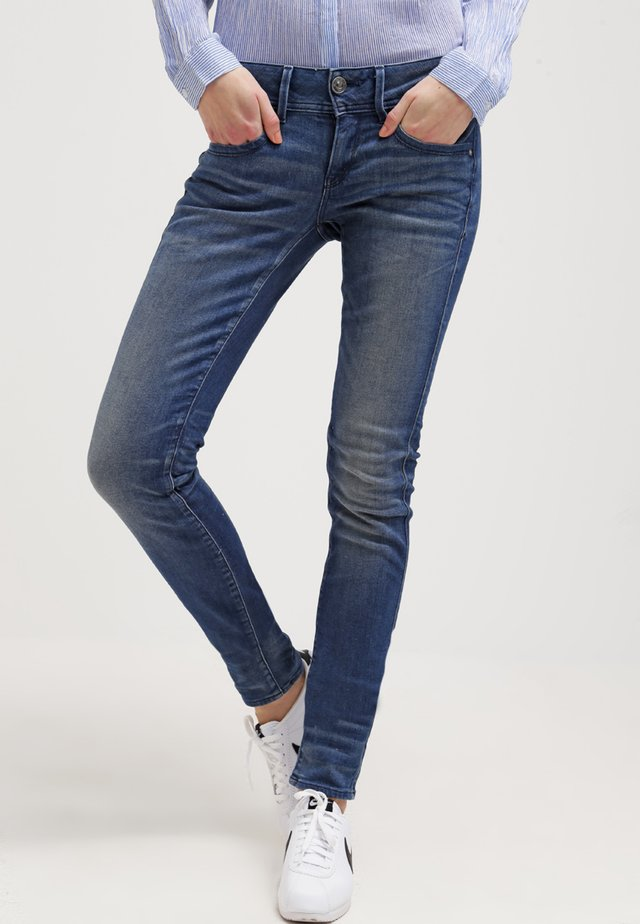 LYNN MID SKINNY - Jeans Skinny Fit - frakto supertretch