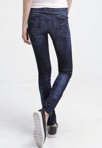 G-Star - LYNN MID SKINNY - Jeans Skinny Fit - blue - 2