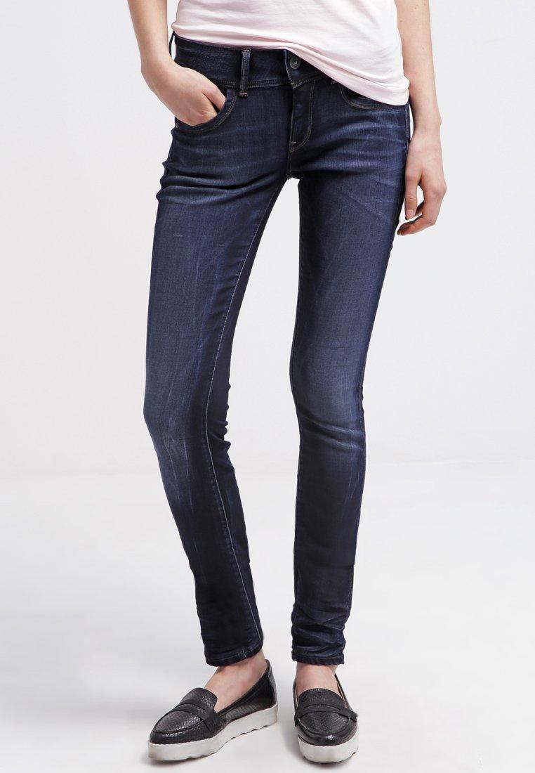 G-Star - LYNN MID SKINNY  - Jeans Skinny Fit - slander blue superst