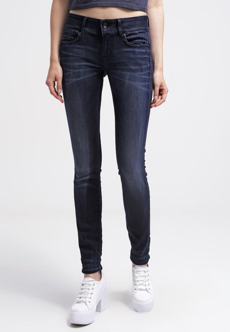 G-Star - MIDGE CODY MID SKINNY - Jeans Skinny Fit - slander blue superst