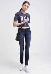 G-Star - MIDGE CODY MID SKINNY - Jeans Skinny Fit - slander blue superst - 1