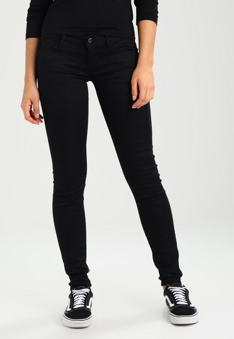 G-Star - 3301 LOW SKINNY  - Jeans Skinny Fit - cilex black