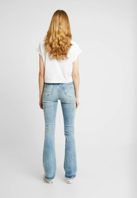 G-Star - 3301 HIGH FLARE - Flared Jeans - sun faded blue - 2