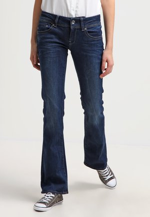 MIDGE MID BOOTCUT - Bootcut jeans - neutro stretch denim