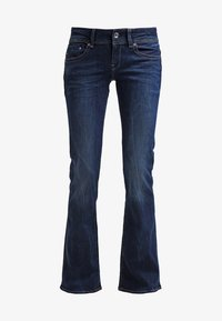 G-Star - MIDGE MID BOOTCUT - Jean bootcut - neutro stretch denim - 6