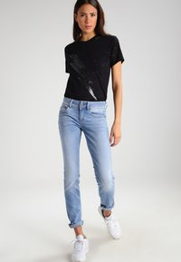 G-Star - LYNN MID SKINNY - Jeans Skinny Fit - lt aged - 2