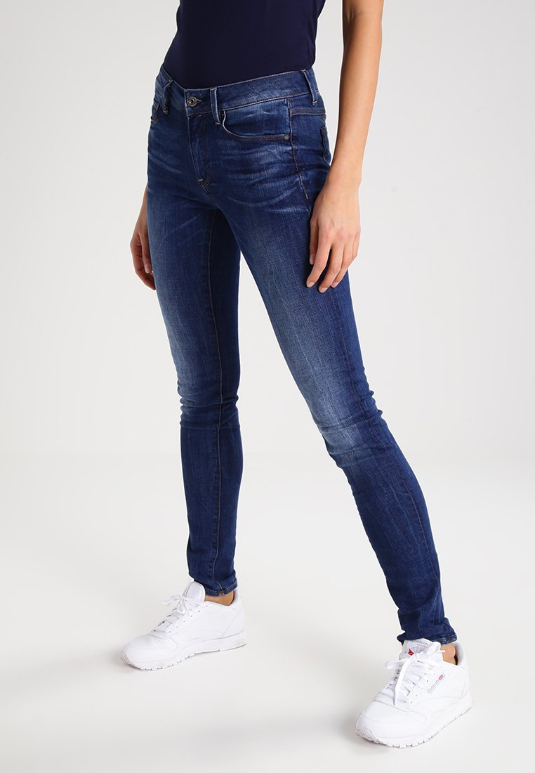 G-Star - 3301 HIGH SKINNY  - Slim fit jeans - yzzi stretch denim
