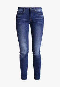 G-Star - 3301 HIGH SKINNY  - Slim fit jeans - yzzi stretch denim - 6