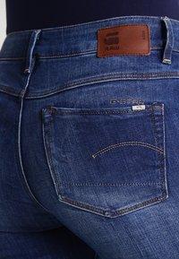 G-Star - 3301 HIGH SKINNY  - Slim fit jeans - yzzi stretch denim - 5