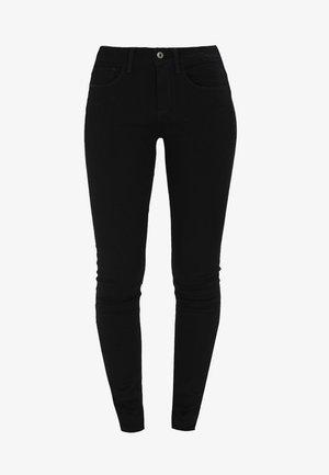 3301 MID SKINNY WMN - Jeans Skinny Fit - ita black superstretch
