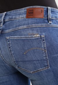 G-Star - 3301 MID BOOTLEG - Jeansy Bootcut - elto superstretch - 5
