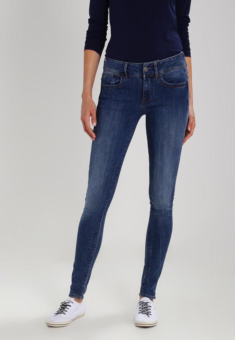 G-Star - LYNN MID SUPER SKINNY  - Jeans Skinny Fit - medium aged