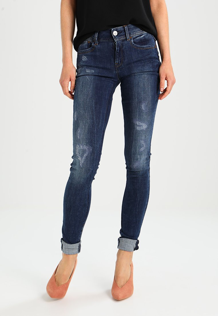 G-Star - LYNN MID SUPER SKINNY  - Jeans Skinny Fit - trender ultimate stretch denim