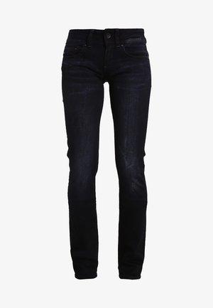 MIDGE SADDLE MID STRAIGHT  - Straight leg jeans - rink superstretch