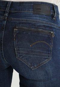 G-Star - MIDGE ZIP MID SKINNY  - Skinny džíny - neutro stretch denim - 4