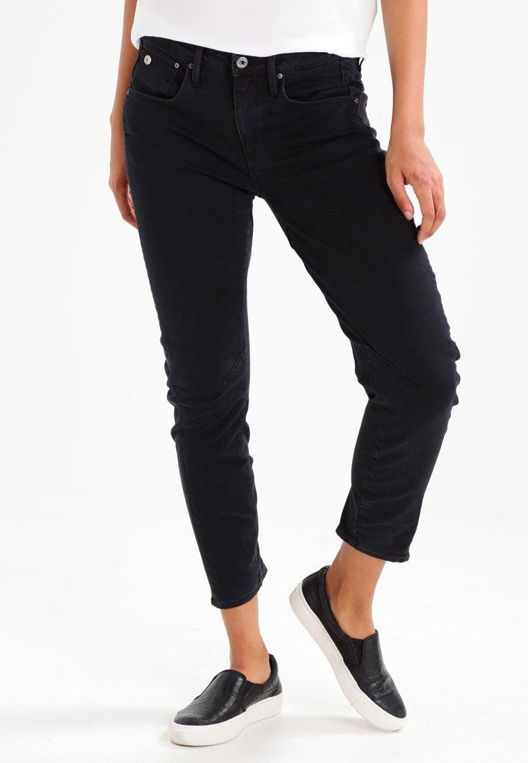 G-Star - ARC 3D LOW BOYFRIEND 7/8  - Relaxed fit jeans - black denim