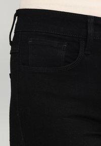 G-Star - 3301 HIGH SKINNY - Jeans Skinny - ita black superstretch - 3