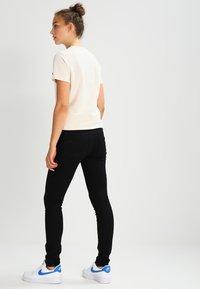 G-Star - 3301 HIGH SKINNY - Jeans Skinny - ita black superstretch - 2