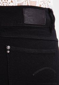 G-Star - LYNN MID SKINNY - Jeans Skinny Fit - black - 5