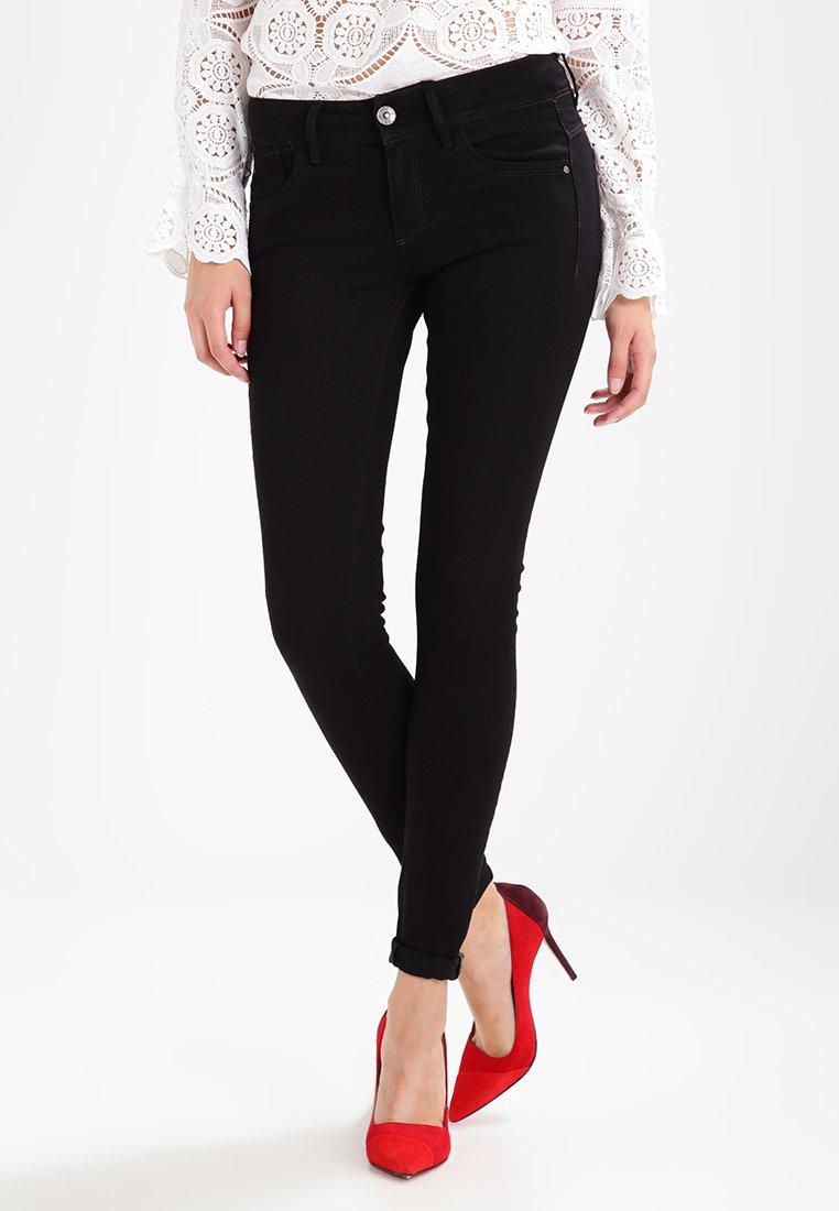 G-Star - LYNN MID SKINNY - Jeans Skinny Fit - black