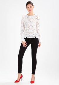 G-Star - LYNN MID SKINNY - Jeans Skinny Fit - black - 2