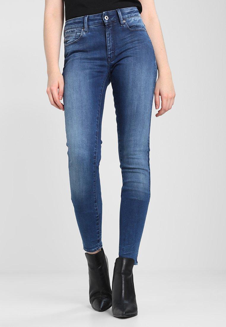 G-Star - SHAPE HIGH SUPER SKINNY - Jeans Skinny Fit - medium aged