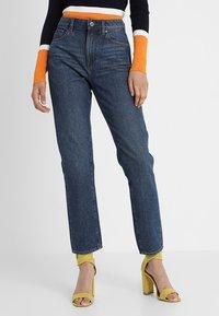 G-Star - 3301 HIGH STRAIGHT 90S - Jeans straight leg - medium aged stone - 2